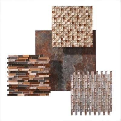 Patterned Ceramic Tile Samples