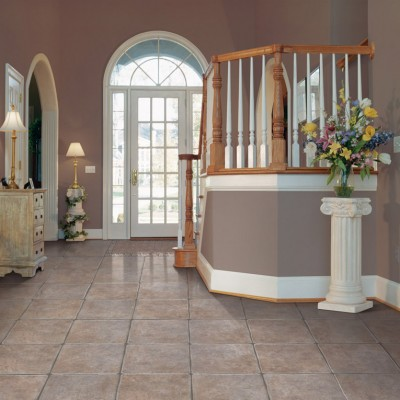 Country Style Home with Neutral Colored Tiles