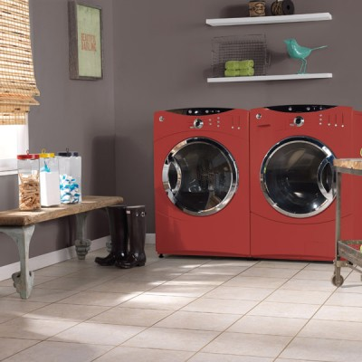 Laundry and Mud Room with Tile Flooring