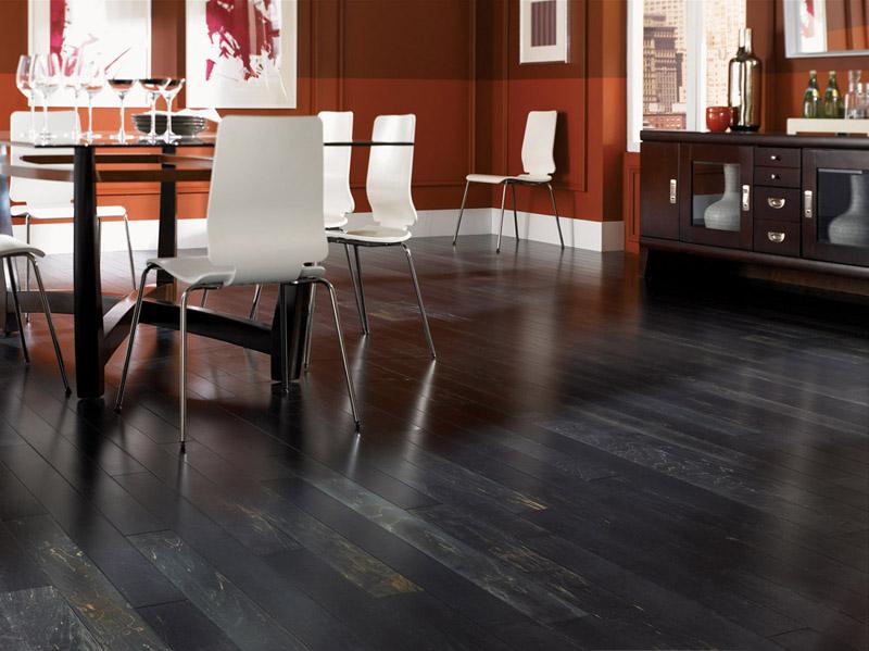 Hardwood vs tile flooring
