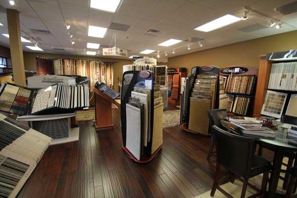 Carpet Stock Showroom