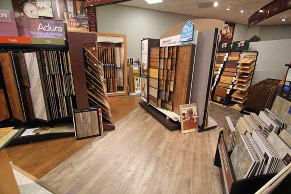 Adura and HGTV Home Floor Products at Menomonee Falls Showroom