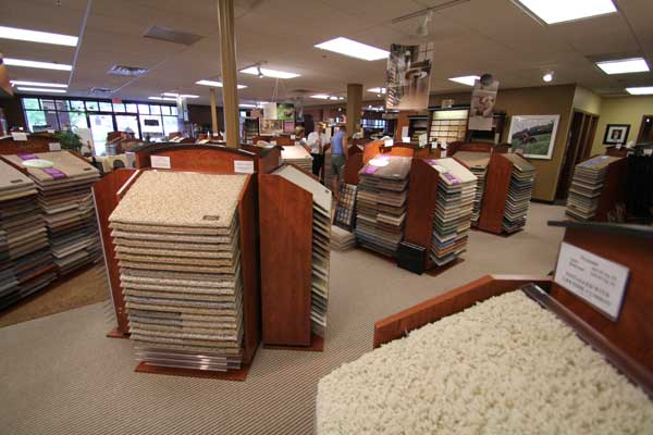 Carpet Inventory at Malkin's Flooring