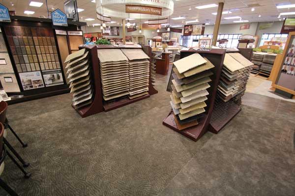 Carpet Selection at Malkin's Flooring Showroom