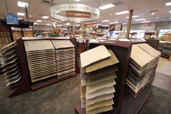 Shaw Brand Carpets at Menomonee Falls Showroom
