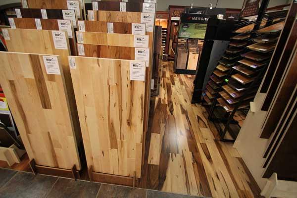 Hardwood Floors Showroom