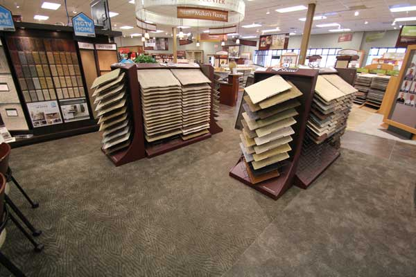 Carpet Selection at Malkin's Flooring Showroom