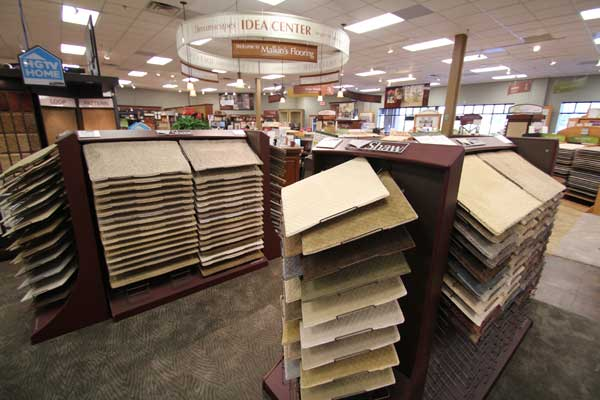 Shaw Brand Carpets at Menomonee Falls Showroom