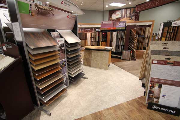 Armstrong Vinyl Flooring in Showroom