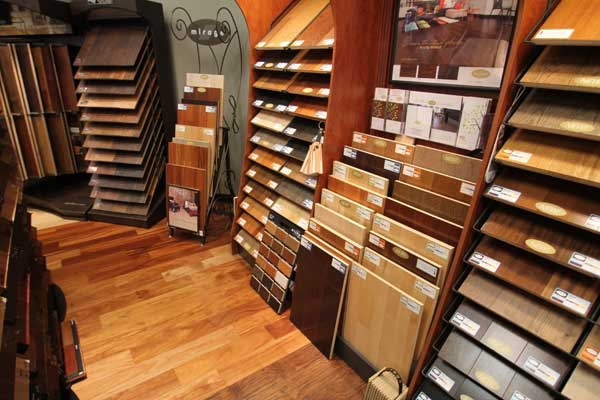 Mirage Brand Hardwood Floors at Malkin's Showroom