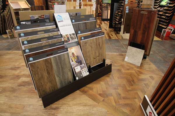 HGTV Floor Sample Selection at Malkin's Flooring