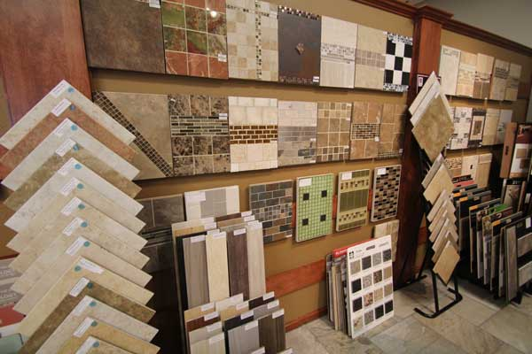Tile and Vinyl Stock at Malkin's