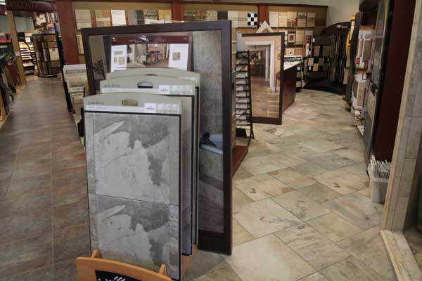 Laminate Floors Selection at Menomonee Falls Showroom