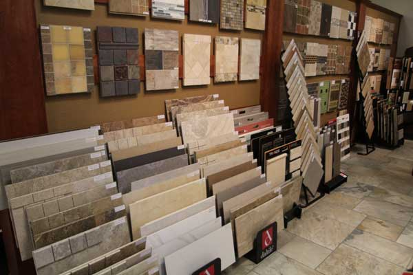 Ceramic Tile Selection at Malkin's Flooring Showroom