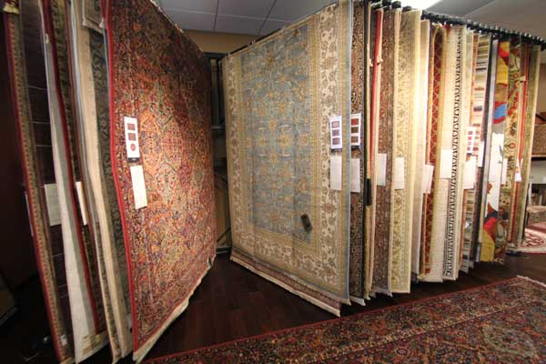 Malkin's Flooring Showroom Area Rugs