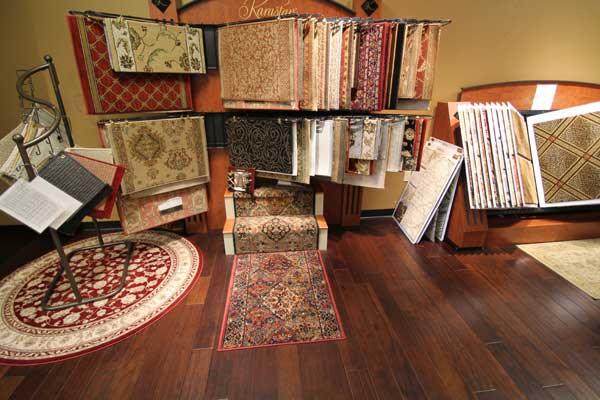 Rug Sample Selection at Malkin's
