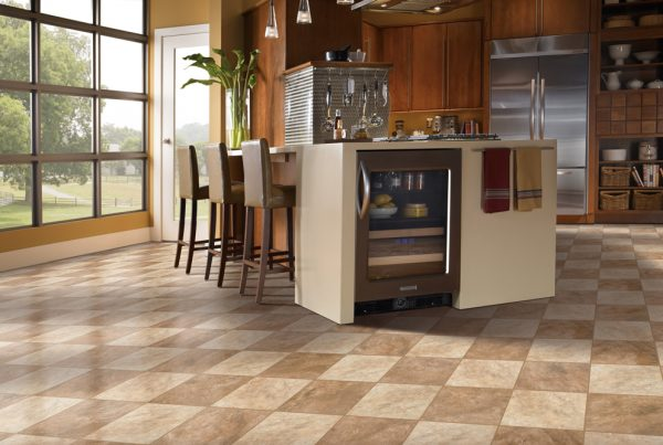 safe scratch resistant floors in kitchen