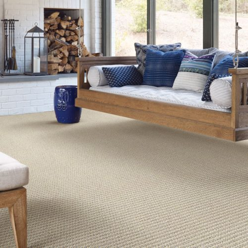 cream carpet in living room
