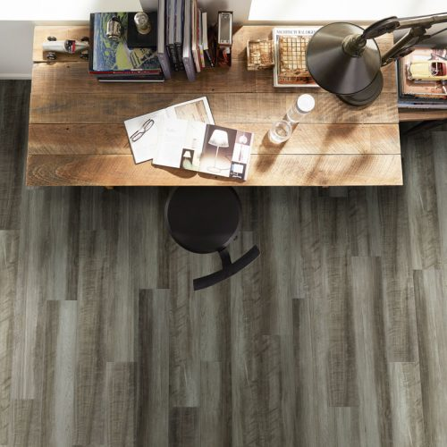 laminate flooring in office