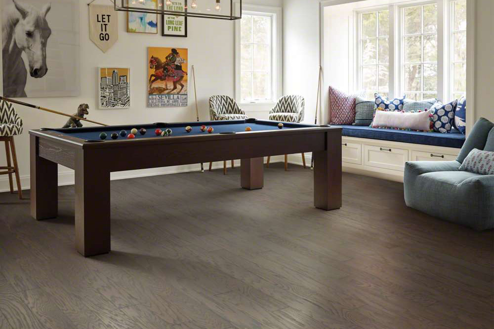Wood-look flooring options are available at Malkin's Flooring